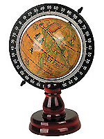 Antique gift decor direct import - scale-in full world globe stand