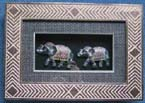 Picture wall decoration - Thailand elephant line pattern